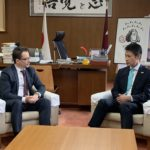 Head of Delegation in Japan of ICRC Visited Hiroshima Prefectural Government