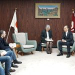 Delegates from Israel and Palestine invited by MOFA visited Hiroshima Prefectural Government