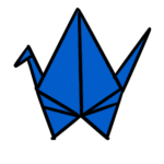 Let's make Orizuru (paper crane)