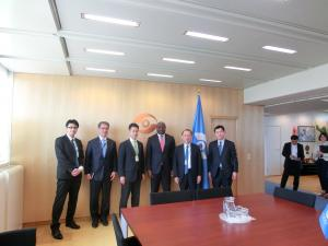 CTBTO事務局長との意見交換の写真