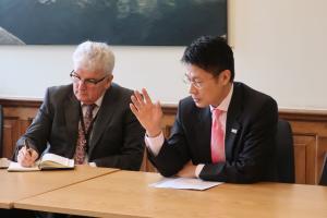 欧州リーダーシップネットワーク(ELN)議長との意見交換