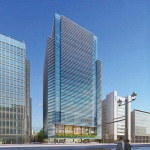 2021 年竣工予定の新本店ビル(イメージ)