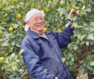 レモン農場を管理されている末岡さん
